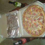 Это была ну очень вкусная пица))) Так держать! !!!